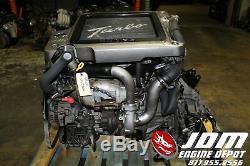 00 07 Nissan Xtrail 2.0l Twin Cam Neo VVL Turbo Engine Loom Ecu Jdm Sr20vet