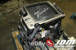00 07 Nissan Xtrail 2.0l Twin Cam Neo VVL Turbo Engine Loom Ecu Jdm Sr20vet