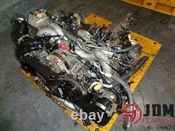 01-03 Subaru Legacy Gt 2.0l Twin Turbo Engine Awd Transmission Jdm Ej208