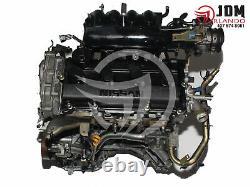 02-06 Nissan Altima 2.0l Twin Cam 4 Cylinder Replacement Engine Jdm Qr20de