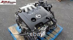 04 05 06 07 08 09 Nissan Quest 3.5l Twin Cam V6 Engine Jdm Vq35de