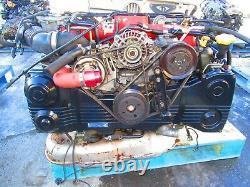 04-05 Subaru WRX STI EJ207 V8 Engine Twin Scroll VF37 Turbo NON IMMOBILIZER ECU