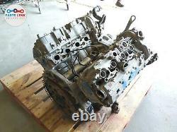 14-16 Bmw X5 F15 4.4l V8 50i Xdrive Gas Twin Turbo Engine Motor Block Heads 68k
