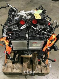 18 MERCEDES BENZ E63 S C63 4.0 TWIN TURBO ENGINE M177 6200 MILE 612hp 16 17 18