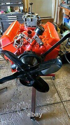 1964 283 Engine completely rebuilt All Original Numbers matching 100%oem parts