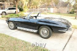 1964 Chevrolet Corvette L84 Convertible Fuel Injection Numbers Matching Sorted