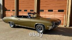 1969 Buick GS 400 Convertible 400 Stage 1- numbers matching engine