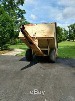 1976 Sears Suburban 18/6 Twin garden tractor mower and its cart rare very nice