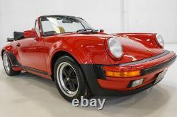 1987 Porsche 911 Turbo 3.3 Cabriolet Only 36,942 miles