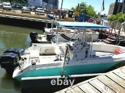 1991 Sea Ray Laguna 23 Center Console with Twin 150 Mercury Engines