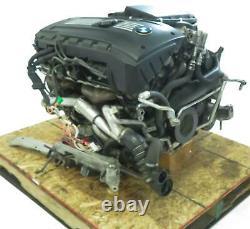 2008-2009 BMW 535i (E60) RWD 3.0L N54 TWIN TURBO ENGINE ASSEMBLY (100k)
