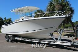 2012 Mako 284 Center Console Twin Engine with Trailer Low Hours Clean