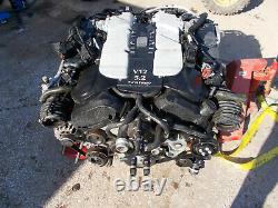 2017 Aston Martin Db11 5.2 V12 Twin Turbo Complete Engine Ae31