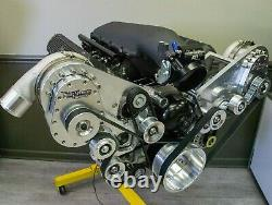 427 LS Next Twin TorqStorm Supercharged Turn-Key Crate Engine Holley EFI 1000HP+