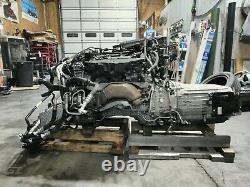 4.7L Twin Turbo V8 M278 Engine Dropout Assembly RWD Mercedes W218 CLS550 2014-18
