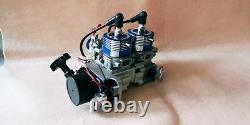 58CC Inline Twin Left Side Exhaust Marine Engine For RC Boat QJ RCMK
