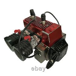 58CC Twin-cylinder Gasoline Engine for RC Car Model