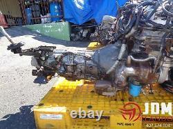 90-95 Nissan 300zx Twin Turbo Engine 5-speed Transmission Jdm Vg30dett