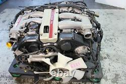90-95 Nissan 300zx Twin Turbo Engine Auto Transmission Jdm Vg30dett