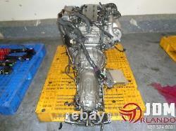 93-96 Toyota Aristo Twin Turbo Engine Transmission Loom & Ecu Jdm 2jz-gte