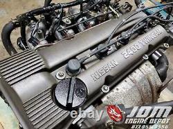 98 01 Nissan Altima 2.4l Twin Cam Fwd Engine Jdm Ka24de Ka24
