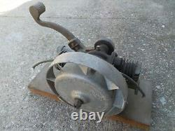 Antique Maytag Twin Cylinder Gas Engine Kick Start Motor