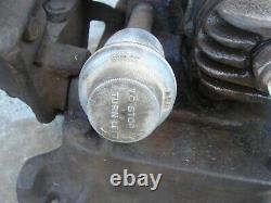 Antique Vintage 1941 Maytag Hit Miss Engine Model 72D Motor Twin Kick Start