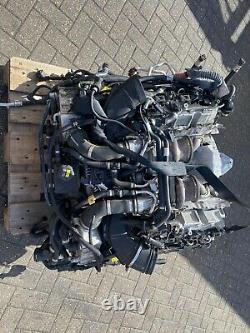 BMW 650i 2016 F10 F12 F13 4.4 TWIN TURBO V8 ENGINE COMPLETE N63B44B 8700miles