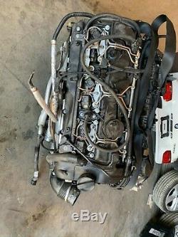 BMW F30 F31 335I 3.0L N55 ENGINE MOTOR TURBOCHARGED With TURBO ASSEMBLY OEM 86MK