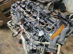 Bmw E82 135 335 535 N54 Twin Turbo Engine Motor Block with Turbo Assy 118k Oem