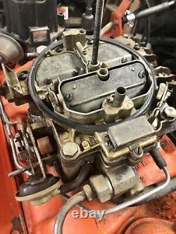 Complete Running Rebuilt 1969 Chevrolet engine L48 300hp 350 SS. Matching Date