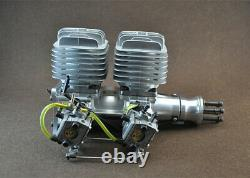 DLA116i2 116cc CNC Twin in line Gas Engine For RC Airplane WithElectronic Igniton