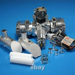 DLE111 111cc Twin Gasoline Engine Free EMS Express Shipment