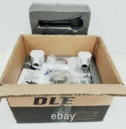 DLE-170 170cc Twin Gas Model Airplane Engine Electronic Ignition & Mufflers New