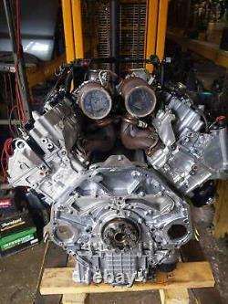 Engine Motor Twin Turbo Complete AWD OEM BMW F15 F16 X5 X6 50i 4.4L 69K Miles