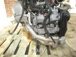 JDM 06-07 Subaru WRX STI EJ207 V9 Engine Twin Scroll VF37 Turbo V-9 Motor GDB V9