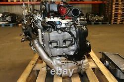 JDM 08-14 Subaru WRX STi GRB EJ207 V10 AVCS 2.0L Twin Scroll VF49 Turbo Engine
