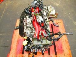 JDM 2001 2002 Subaru WRX STI EJ207 Engine Twin Scroll VF30 Turbo V7 Motor EJ207