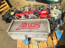 JDM 2005 2006 2007 Subaru WRX STI EJ207 Engine Twin Scroll VF37 Turbo V9 Motor