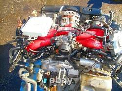JDM 2006 2007 Subaru WRX STI EJ207 Engine Twin Scroll VF37 Turbo V-9 V9 Motor