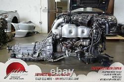 JDM 2JZGTE Toyota Aristo 2jzgte IS300 Engine Twin-Turbo VVT-i 3.0L A/T ECU 2JZ