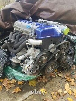 JDM 97-02 Toyota 2JZ-GTE VVTI Engine Twin Turbo 3.0L Inline 6 Motor Aristo supra