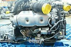 JDM 98-01 Toyota 2JZ-GTE VVTI Engine Twin Turbo 3.0L Inline 6 Motor Aristo #2