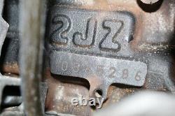 JDM 98-01 Toyota 2JZ-GTE VVTI Engine Twin Turbo 3.0L Inline 6 Motor Aristo Supra
