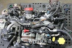 JDM Subaru Legacy EJ206 Twin Turbo Engine Motor ONLY 2.0L BH5 BE5 EJ20TT