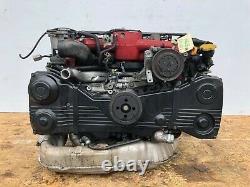 JDM Subaru WRX STi EJ207 V8 Engine 2.0L DOHC AVCS Turbo Motor VF37 Twin Scroll