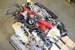 JDM Subaru WRX STi EJ207 V8 Turbo Engine 2.0L DOHC AVCS Motor VF37 Twin Scroll