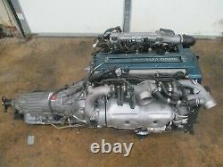 JDM TOYOTA 2JZ-GTE TWIN TURBO 3.0L MOTOR ARISTO Engine SUPRA 2JZ GTE VVTI SWAP
