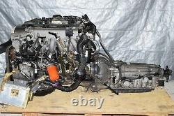 JDM Toyota 2JZGTE Non VVTi Engine 3.0L DOHC Twin Turbo Auto Trans Wire Ecu 2JZ