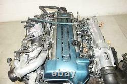 JDM Toyota Aristo Twin Turbo VVTi GS300 2JZ-GTE Engine Motor Auto Transmission